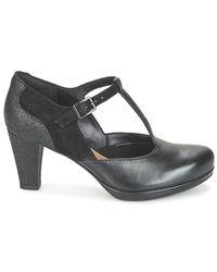 Clarks Chorus Gia Women's Court Shoes In Black