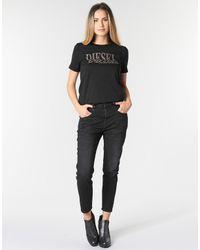 DIESEL Boyfriend Jeans Fayza in het Black