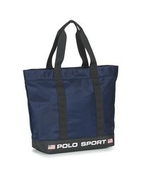 P SPRT TOTE-TOTE-NYLON femmes Cabas en bleu Polo Ralph Lauren pour homme en coloris Blue