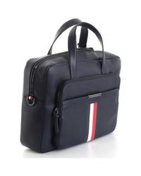 Porte document AM0AM05456 Tommy Hilfiger pour homme en coloris Blue