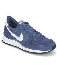 Nike Lage Sneakers Air Vortex in het Blue voor heren
