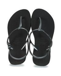 Havaianas Sandalen Freedom Sl in het Black