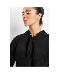 Alala Stance Hoodie Black - Xs Black Women's Sweater In Black