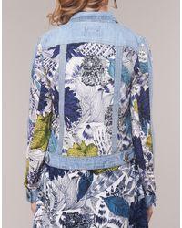 Veste Desigual en coloris Blue