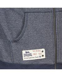 Lonsdale - Slough Men's Sweatshirt In Blue for Men - Lyst