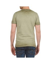 Napapijri - Slaj Men's T Shirt In Green for Men - Lyst