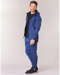 Nike Tech Fleece Windrunner Hoodie Men's Jacket In Blue for men