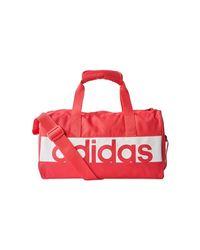 Adidas Lin Per Tb Xs Men's Travel Bag In Pink for men