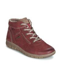 Josef Seibel Hoge Sneakers Steffi 53 in het Red