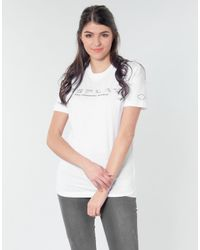 Replay T-shirts Yayelle in het White
