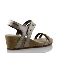Mephisto - Metallic S Minoa Women's Sandals In Gold - Lyst
