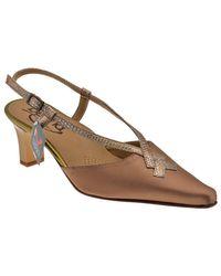 9162T.60CoursangledelachaussureestEscarpins Chaussures escarpins Bettina en coloris Brown