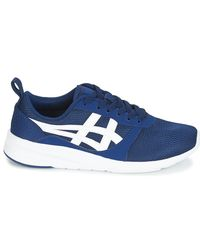Asics LYTE-JOGGER Men's Indoor Sports Trainers (shoes) In Blue for men