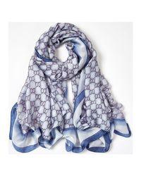 EASYRING Echarpe Versace en coloris Blue