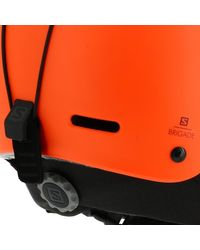 Brigade orange casque Accessoire sport Yves Salomon pour homme