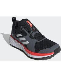 Chaussures Chaussure de trail running Terrex Two Adidas pour homme en coloris Black