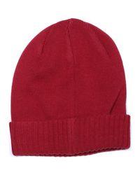 Bonnet logotypé hommes Bonnet en rouge Fila pour homme en coloris Red