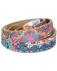 Desigual Multicolor Hahuela Women's Belt In Multicolour