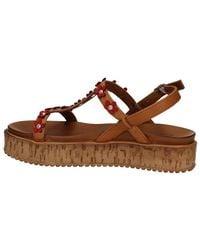 Inuovo 7243 Sandals Women Brown Women's Sandals In Brown