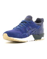 Asics H6q4l Sport Shoes Unisex Blue Men's Trainers In Blue for men
