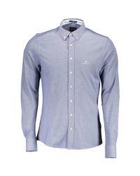 Chemise Gant pour homme en coloris Blue