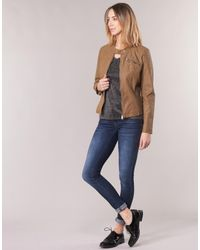 ONLFLORA Veste ONLY en coloris Brown