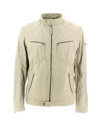 Geox Natural M5220m T2205 Jacket Man Mid Sand Men's Jacket In Beige for men