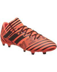 NEMEZIZ 17.3 FG SCARPINI ARANCIO hommes Chaussures de foot en orange Adidas pour homme