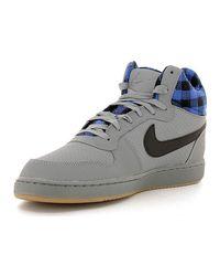 Nike - Gray 844884 Sneakers Man Men's Walking Boots In Grey for Men - Lyst