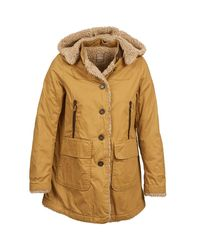 Napapijri | Natural Acuna Women's Parka In Beige | Lyst