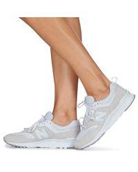 New Balance Lage Sneakers 997 in het White