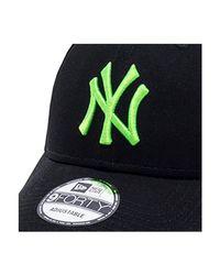Casquette incurvée New York Yankees 9FORTY Casquette KTZ pour homme en coloris Black