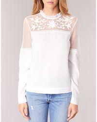Vero Moda Josefine Women's Blouse In White