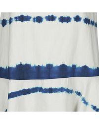 ELEVEN PARIS Korte Jurk Lisbet in het Blue