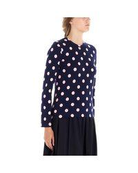 T-SHIRT FEMME T-shirt Comme des Garçons en coloris Blue