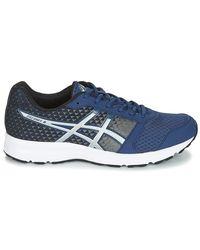 Asics Patriot 8 Men's Running Trainers In Blue for men