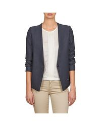 School Rag - Velia Women's Jacket In Blue - Lyst