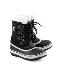 Sorel - Winter Carnival Women's Snow Boots In Black - Lyst