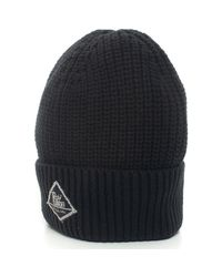 Bonnet HAT-RIBBED109 Roy Rogers en coloris Black