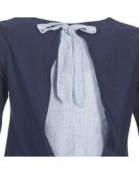 Casual Attitude T-shirt Lange Mouw Ifomboy in het Blue