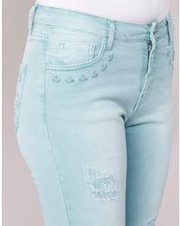 Desigual Kelios Women's Skinny Jeans In Blue