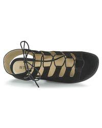 Betty London - Ebitune Women's Sandals In Black - Lyst