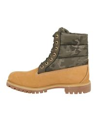 Bottines cuir 6IN PREMIUM CAMOUFLAGE Boots Timberland pour homme en coloris Natural