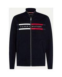 Tommy Hilfiger Blue Mw0mw15237 Tracksuit Jacket for men