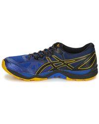 Asics Gel-fujitrabuco 6 G-tx Men's Running Trainers In Blue for men