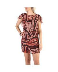 Robe courte 72G736 8327Z PF64 Guess en coloris Brown