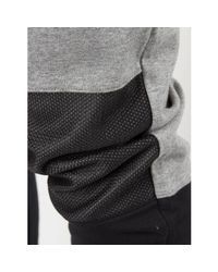 Fila Vintage Gray Men's Corey Cut And Sew Joggers, Grey Men's Sportswear In Grey for men
