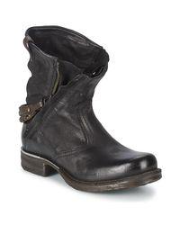 SAINT METAL ZIP femmes Boots en Noir A.s.98 en coloris Black
