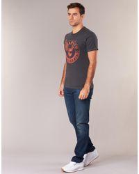 Levi's Gray Levis Graphic Set-in Men's T Shirt In Grey for men