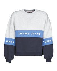Tommy Hilfiger Blue Tjw Colorbock Crew Sweatshirt